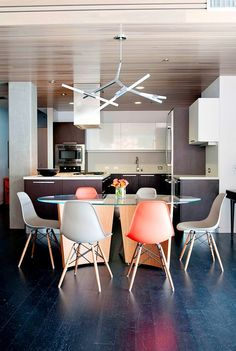 The Most Beautifully Modern Dining Rooms via @domainehome