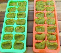 Tem cachorro na cozinha: Cubos congelados de legumes (Solução natural anti-coprofagia)