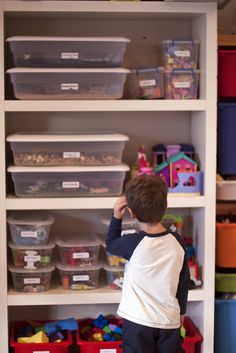 Building a World in a Box… Sensory Boxes and how to store them.