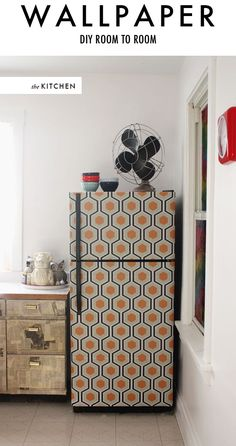 wallpaper your fridge