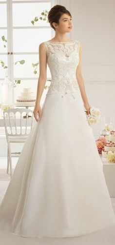 cool 20 Best Collections by Aire Barcelona Wedding Dress