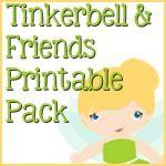 Tinkerbell & Friends Printable Pack