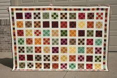 9 Patch Quilt crazy mom quilts