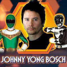 Power Rangers 1995, Power Rangers Zeo, Mighty Morphin Power Rangers, Johnny Yong Bosch, Green Ranger, Martial Artist, Convention Centre, Halloween Town, American Actors