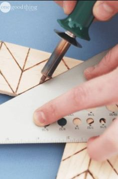 Use A Wood Burning Tool To Make Charming Rustic Crafts.