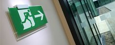 Signkit FE – fully compliant, high quality fire escape signs to suit every budget Emergency Exit Signs, Architectural Signage, Fire Escape, Fire Safety, Workplace, Interior And Exterior, Architecture, Suit, Bespoke