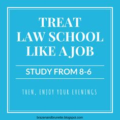 Lessons from Law School Orientation Day 2 | brazenandbrunette.blogspot.com