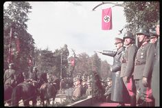 World War II Erupts: Color Photos From the Invasion of Poland, 1939 | LIFE.com Invasion Of Poland, Germany Ww2, Victory Parade, The Third Reich, Military Personnel, Life Pictures, Historical Pictures, Second World, France