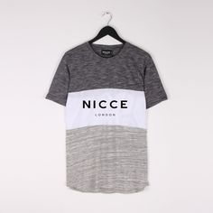 TRIPLE PANEL T-SHIRT | Nicce London