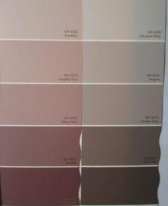 Hochwertig Altrosa Wandfarbe Farbe Nuance Farbpalette Grau Muster