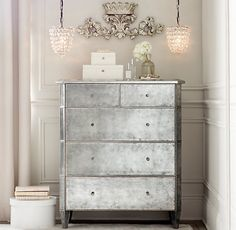 Small Pewter Wall Crown | Accents | Restoration Hardware Baby  Child
