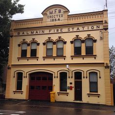 #Balmain Fire Station #Sydney #NSW #Australia. #architecture #travel #tourism #tourist #holiday #adventure #explore