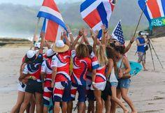 Costa Rica lucha con Panamá y Perú por la sede del Mundial de Surf