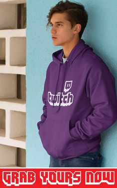 👉 Designed for TwitchAddict's 💜 ▪ Soft Cotton ▪ Printed in the USA ▪ Tracking Numbers Included Twitch Hoodie, Sporty Look, Hoodies, Sweatshirts, Types Of Sleeves, Overlay, Numbers, Unisex, Printed