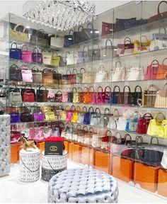10 Luxury Walk-in Closet Design Ideas That Will Make Your Jaw Drop Closet Bedroom, Bedroom Decor, Bag Closet, Luxury Closet, Glam Room, Dream Closets, Closet Designs, Beauty Room, Luxury Homes