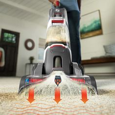 Hoover Carpet Cleaning Bundle - Professional Series SmartWash Upright Carpet Cleaner and Pet Solution-HV-CCB-HD - The Home Depot Home Depot, Carpet Machine, Pet Odor Remover, Carpet Smell, Cheap Carpet Runners, Pet Odors, Recycling Programs, Clean Machine, Carpet Cleaners