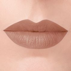 Oracle Forbidden Lipstick swatch // A warm-toned, earthy nude lipstick.