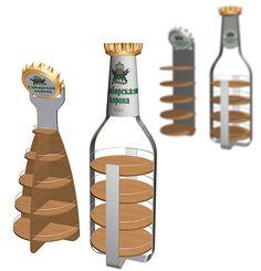 Дизайн POSm для бренда «Сибирская корона»