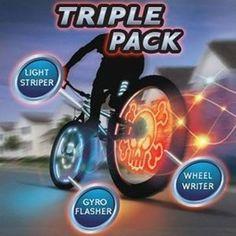 Meon Light-up Bike FX (Triple Pack)