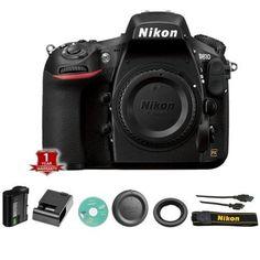 BRAND NEW Nikon D810 Digital SLR / DSLR Camera Body Only - (Black) #Nikon