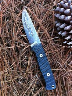 custom knives | Damascus Custom Knife « Greg Cartmell