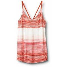 QSW Heat Wave Stripe Tank ❤ liked on Polyvore
