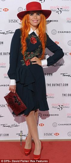 Paloma Faith - I really need one of these hats for spring!ASAP!