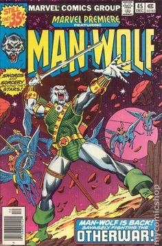 Marvel Premiere (1972) 45 Man-Wolf comic book