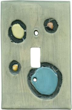 Shiny Stones Pewter Light Switch Plates, Outlet Covers, Wallplates