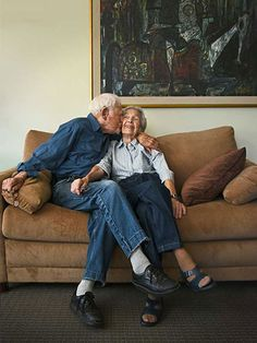 The couple – still married, still going strong Morrie and Betty Markoff, 103 and say that there's no particular secret to their very long marriage, other than tolerance, respect and luck. But why has Morrie never told Betty that he loves her?
