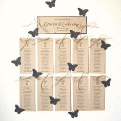 Reserved for Hannah Table plan with jute and Navy por shintashop