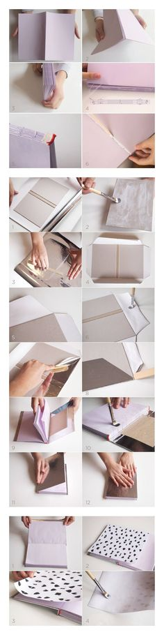 Cuaderno de notas DIY - idearioblog.stfi.re - DIY Note Book