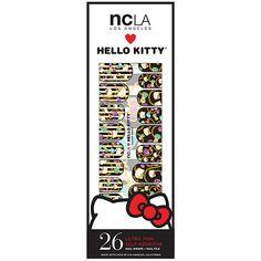 Buy NCLA Nail Wraps, Hello Kitty Scarf Print Beauty.com