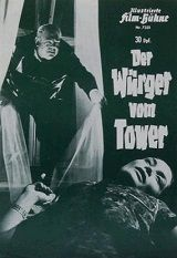 Strangler Of The Tower (1966) $19.99; aka: Der Würger Vom Tower; Stars Charles Regnier, Kai Fischer, Hans Reiser, Ellen Schwiers, Ady Berber and Christa Linder. (In widescreen format).