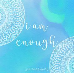Say it out loud, because it\'s bleeping true.  www.jennramsay.art   #motivation #inspiration #quote #Art #Mandala #jennramsayart
