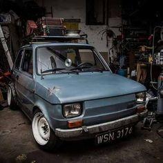 Fiat 126, Fiat Abarth, Small Cars, Custom Cars, Cool Cars, Dream Cars, Classic Cars, Wheels, Motorcycle