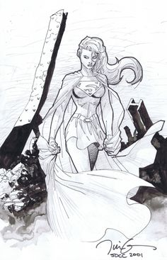 Jim Lee Supergirl