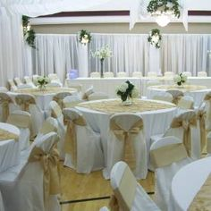 LDS Wedding Reception Decor for Cultural Halls in Arizona