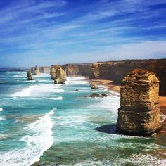Les 12 apôtres Great Ocean Road. #australia #12apostles #2xk16 by gzavyee http://ift.tt/1ijk11S