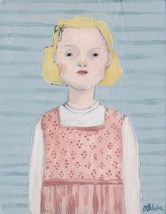 trudy by amanda blake art, via Flickr