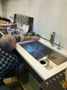 Kohler sinks are going into The Chopping Block at the Mart.
