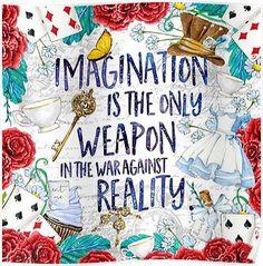Alice in Wonderland - Imagination Posters