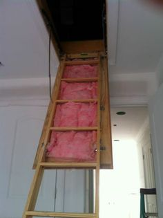 Your Energy Tip Of The Day: The Best Practice To Meet The R 10 Insulation  Level Required By NC Energy Code For Attic Access Doors Would Be To Use  Rigid Foam ...