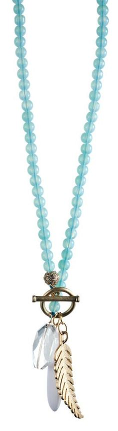 I have the beaded necklace, I think I'll be remaking this.