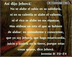 Jeremías 9:23-24