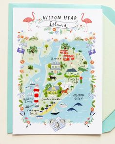 Jolly Edition custom wedding custom save the date and wedding map illustrated by clair rossiter : just awesome ! Wedding Invitation Trends, Beautiful Wedding Invitations, Wedding Stationary, Invitation Design, Invitation Suite, Invitation Ideas, Wedding Illustration, Watercolor Invitations, Wedding Cards