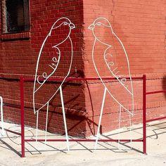 Bird Sculpture, Brooklyn.
