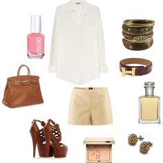Dressy Shorts, created by christinacollazo84 on Polyvore