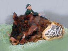 Wild Boar Cake 1 by 6eki