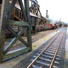 Royal Air Force Kinloss Model Railway Club: Thorne Hill Colliery (O Gauge)